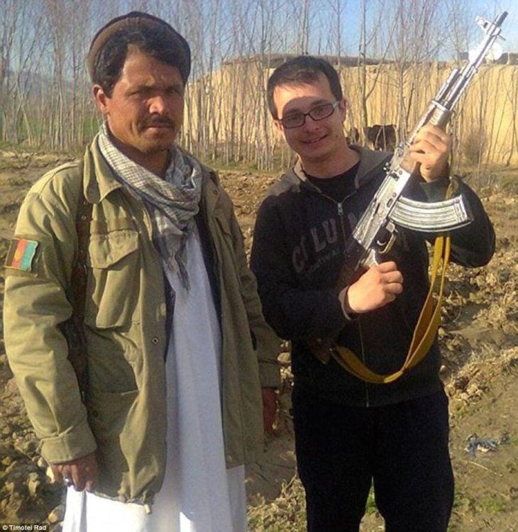 Timotei Rad en afganistán
