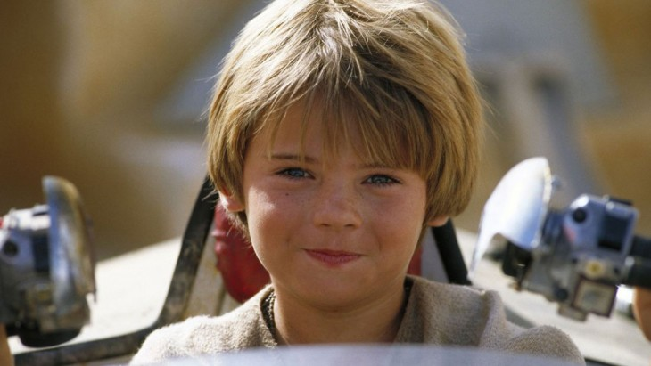 Anakin Skywalker en Episodio I