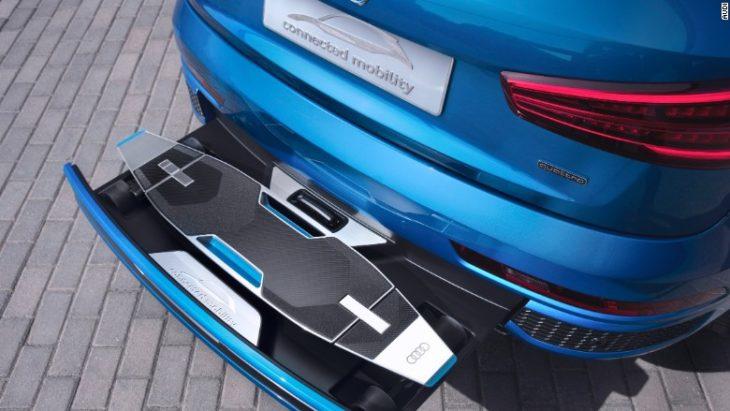 Nuevo Audi con patín eléctrico