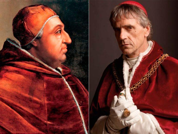 Personajes históricos en la realidad y en el cine