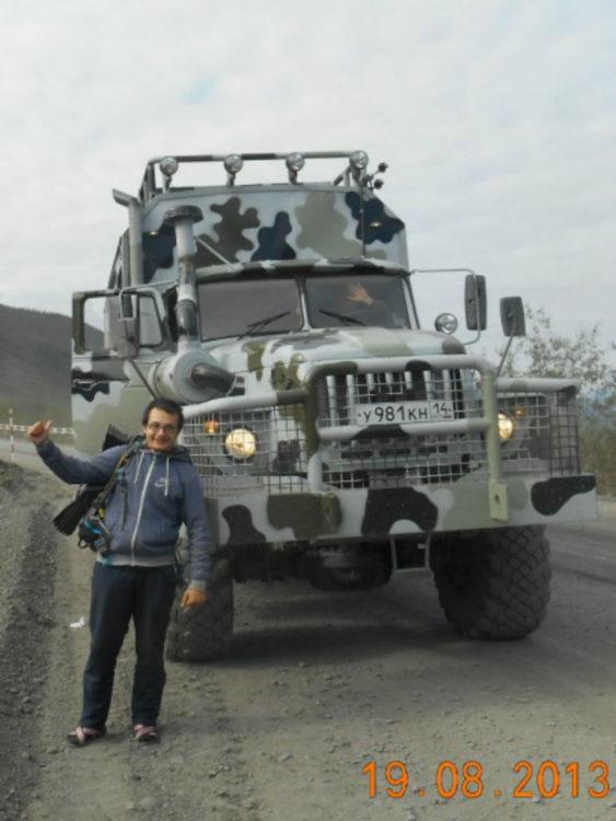 Timotei Rad en rusia