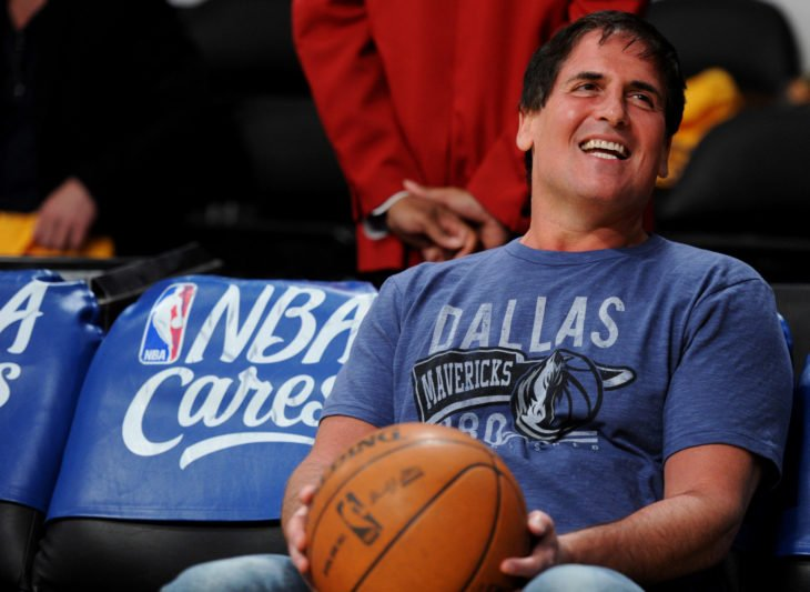Mark Cuban, dueño de los Mavericks de Dallas