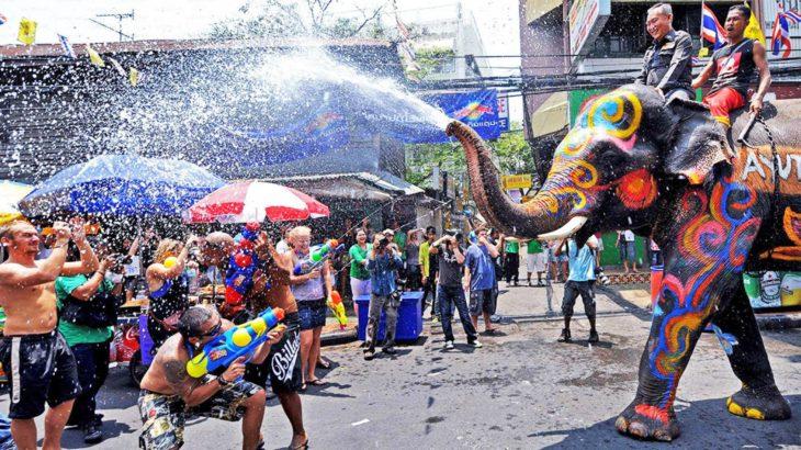 Celebración de Año Nuevo tailandés