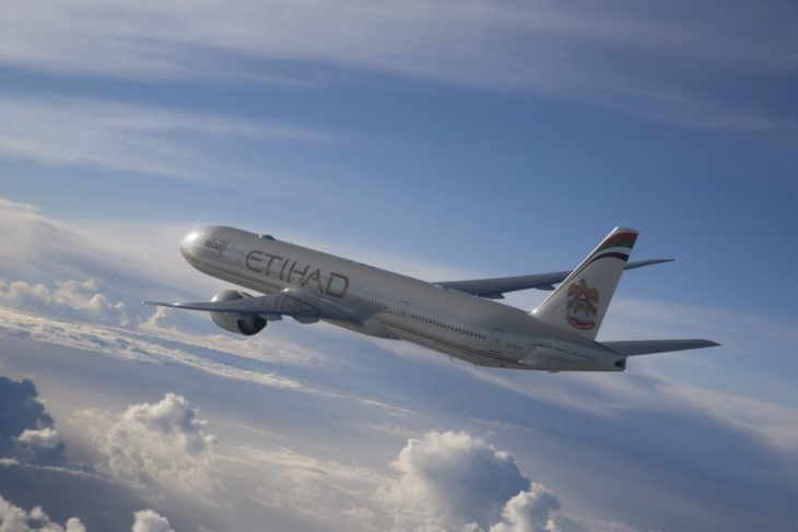 Vuelo de Etihad Airways