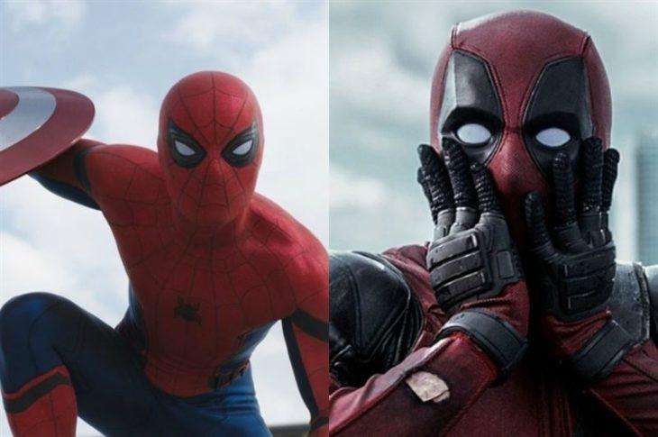deadpool spiderman