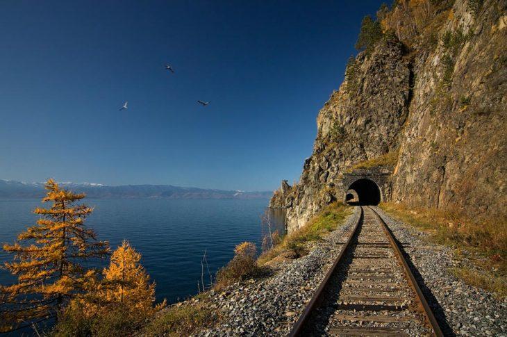 vías trans-siberian