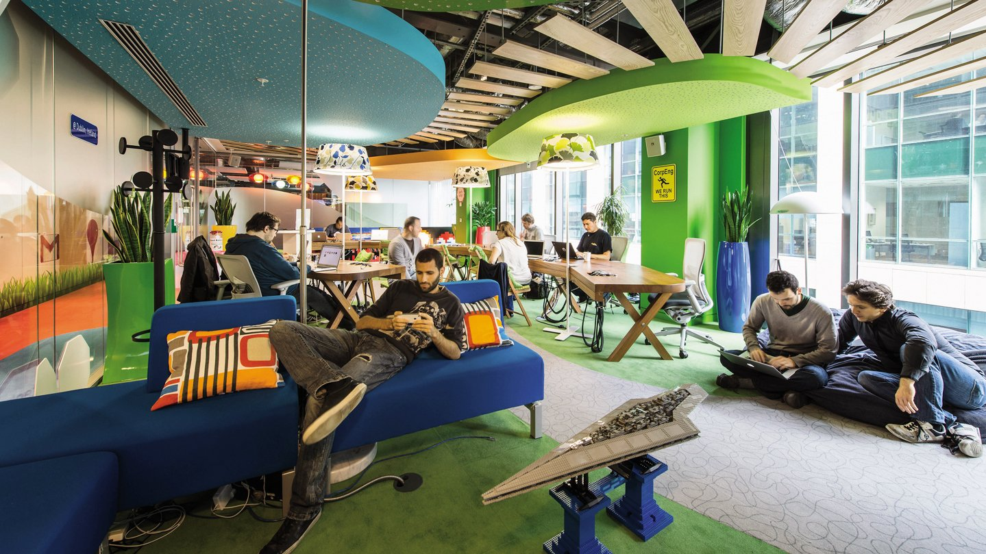 Conoce 16 curiosidades de google que tal vez ignorabas for Google office interior designs pictures