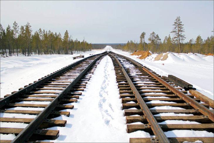 vías trans siberian