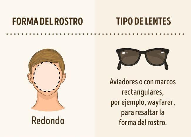 lentes para rostro redondo