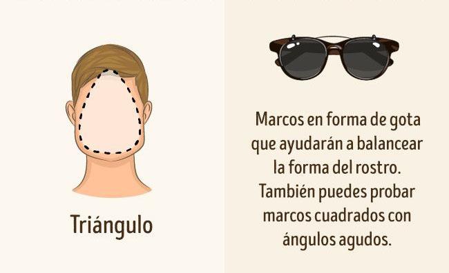 lentes para rostro triangulo