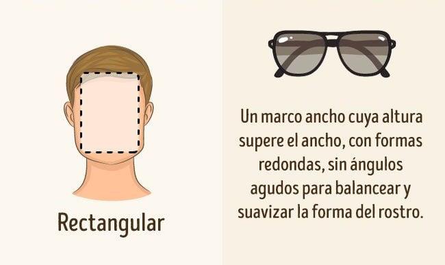 lentes para rostro rectángulo