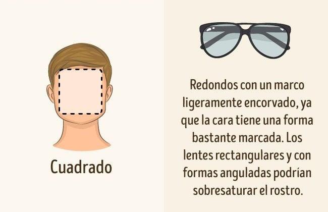 lentes para rostro cuadrado