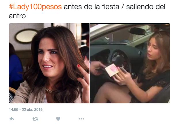 Lady 100 pesos, se vuelve viral por estos memes