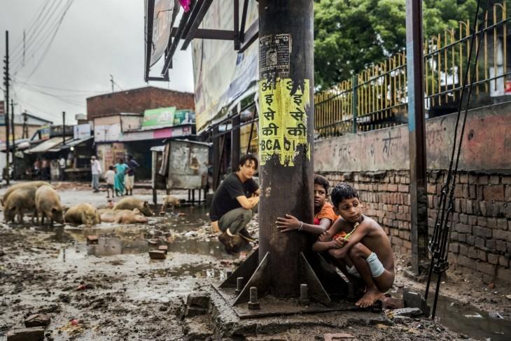 photoshop keanu niños de la calle