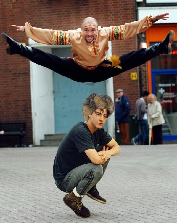 photoshop keanu baile ruso
