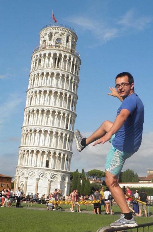 Timotei Rad torre de pisa