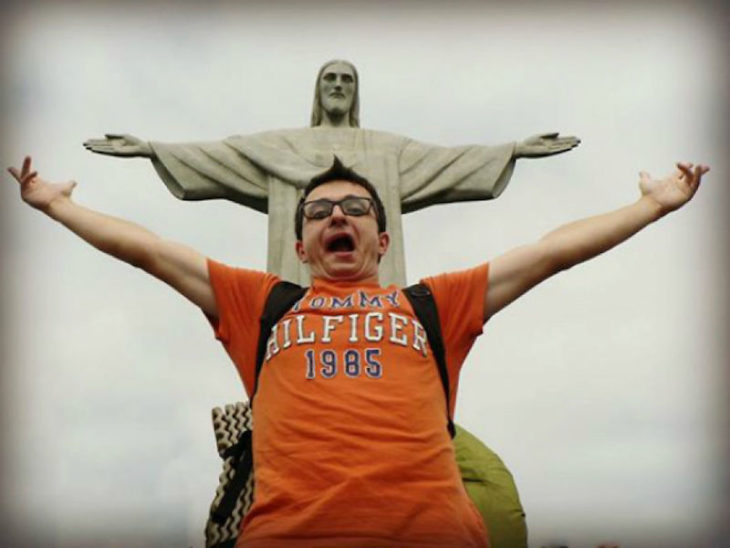 Timotei Rad en brasil