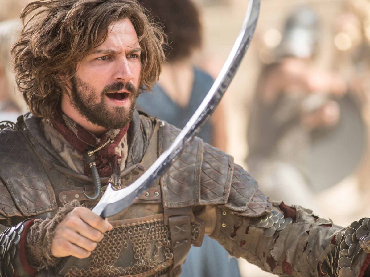 Conoce a elenco de Games of Thrones como son en la vida real Daario Naharis Arakh
