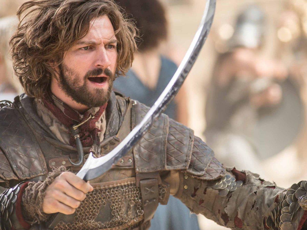 Conoce a elenco de Games of Thrones como son en la vida real Daario Naharis Arakh