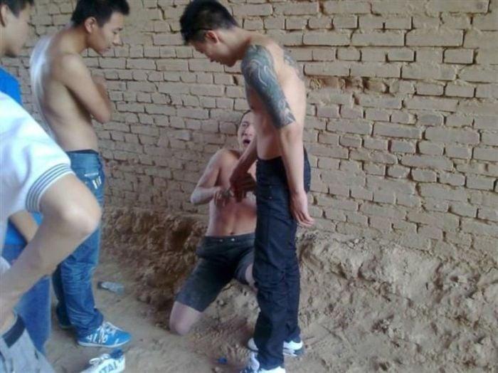 gángster chino celular