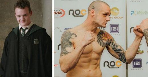 Gregory Goyle el actor de 'Harry Potter' que se convirtió en un luchador de la MMA