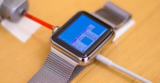 Este hombre logró instalar y ejecutar Windows 95 en su Apple Watch