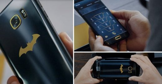 Samsung lanza su Galaxy S7 Edge Injustice Edition, ¡el móvil oficial de Batman!