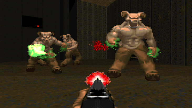 Doom antes Hell Knights