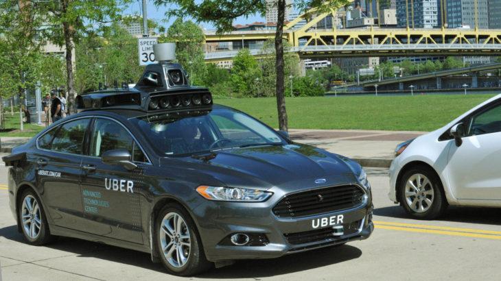 uber Automóvil Autónomo