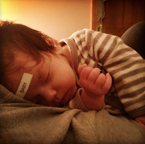 etiqueta bebe