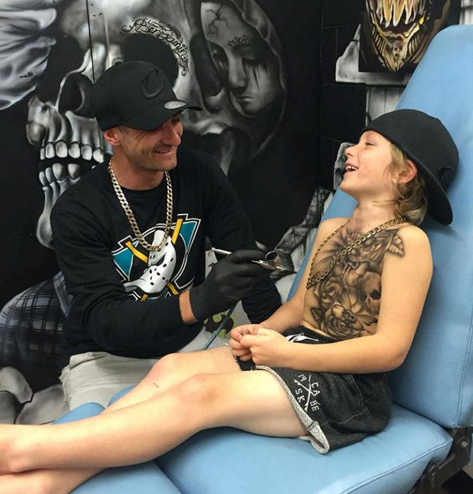tatuajes Benjamin Lloyd