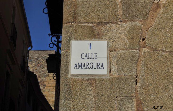 Calle Amargura en España