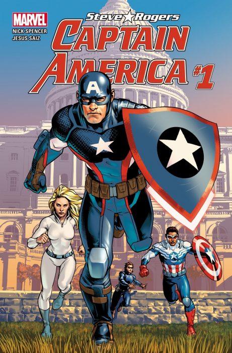 Portada de Capitán América #1