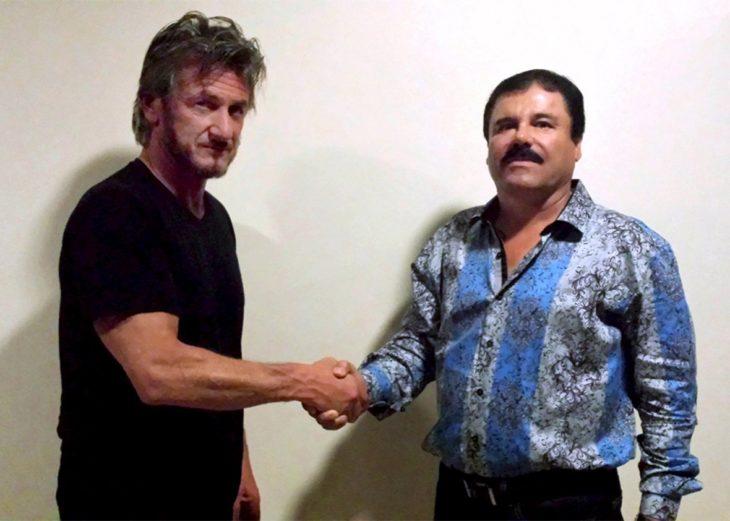 El Chapo Guzmán con Sean Penn