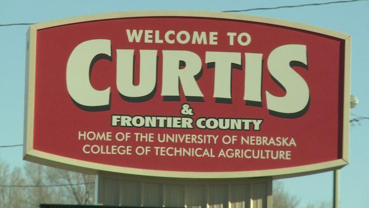 Entrada a Curtis, Nebraska