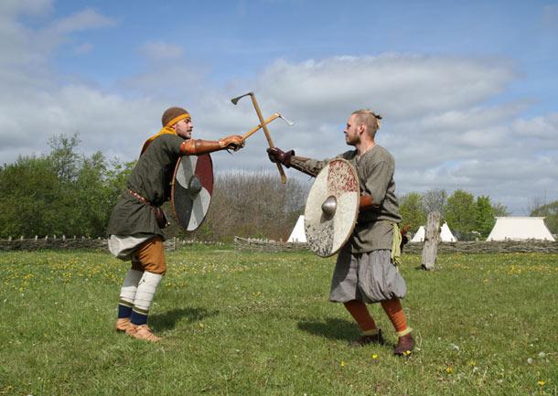 hombres del medioevo