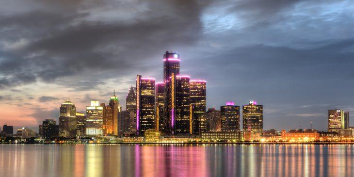 Vista de Detroit