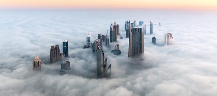 Vista aérea de Duabi