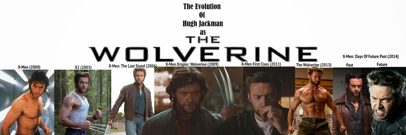 Evolución de Wolverine en el cine