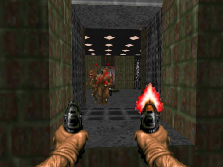 Pistolas Doom antes
