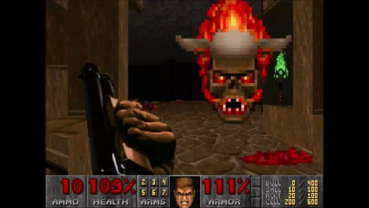 Doom antes Lost Souls