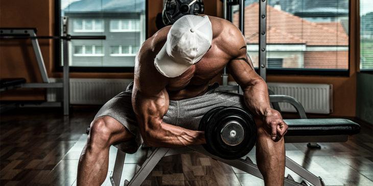 Flexiones de concentración de bíceps