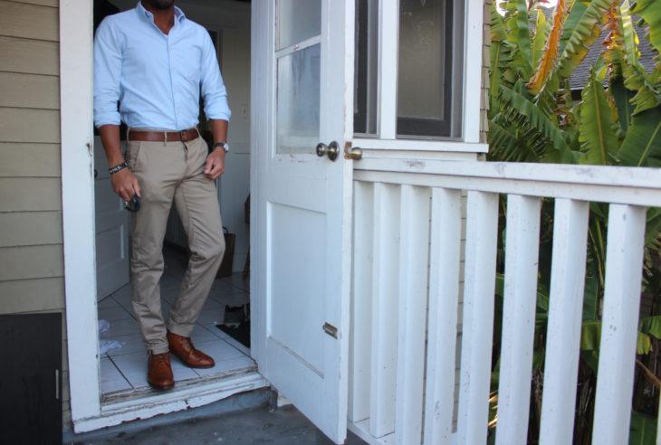 pantalones casuales