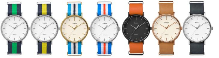 Reloj Timex Weekender Fairfield