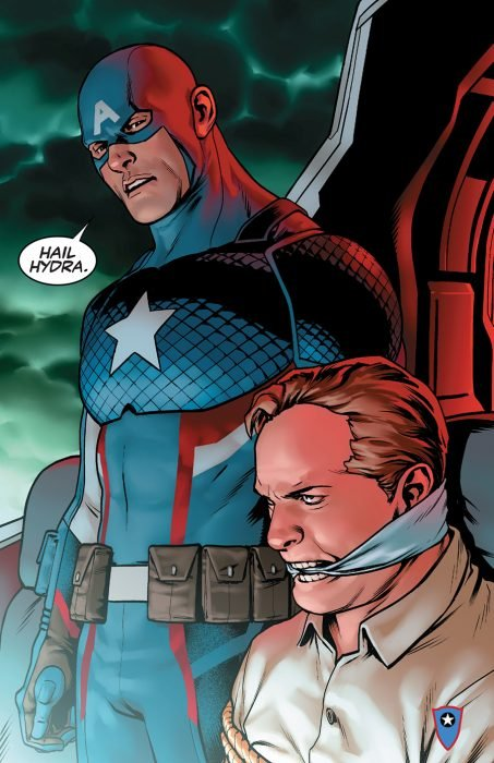 Capitán América, agente secreto de Hydra