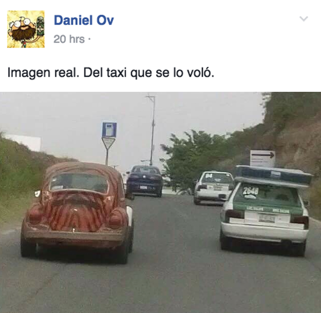 colchon en taxi