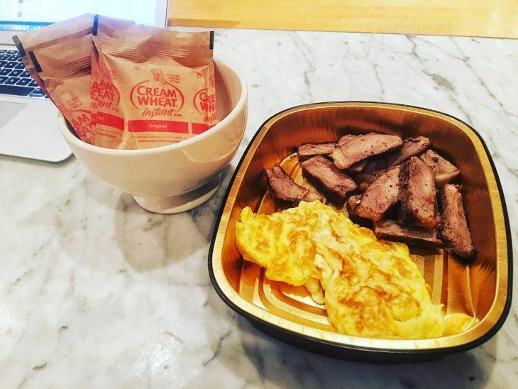 Desayuno proteinas la roca