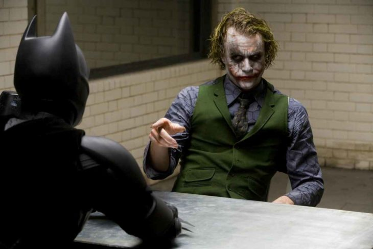 Batman interroga a Joker