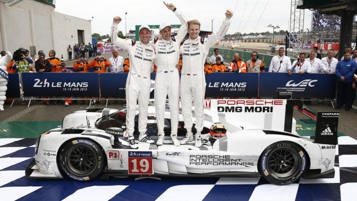 Porsche ganador en Le Mans 2015