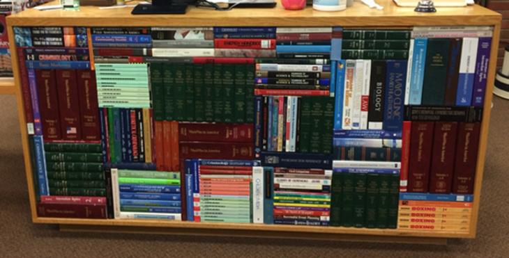 Librero libros